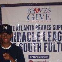 Atlanta Braves Support The Miracle League of South Fulton